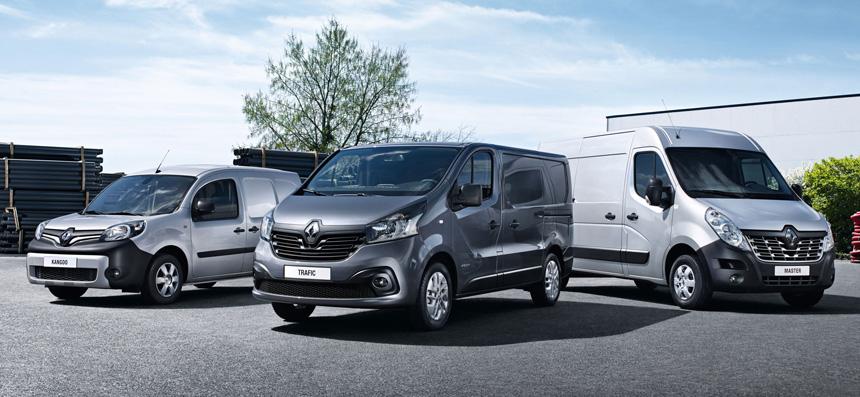 Обслуживание коммерческого транспорорта Renault